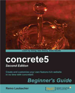concrete5 Beginners Guide Cover